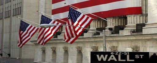 wall st usa flag