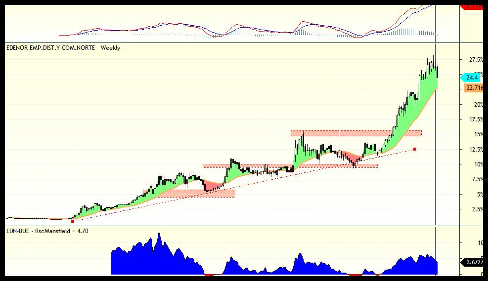 trading edenor