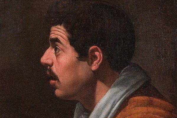 Hombre de perfil by Diego Velázquez