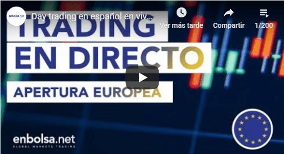 Apertura Europea en Directo