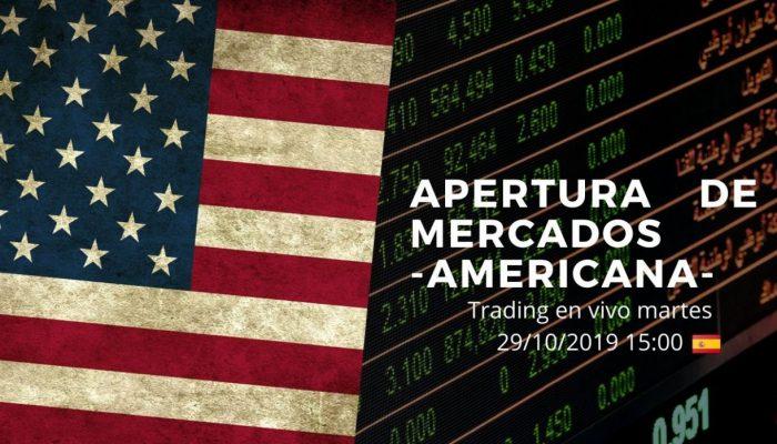 APERTURA DE MERCADOS AMERICANA