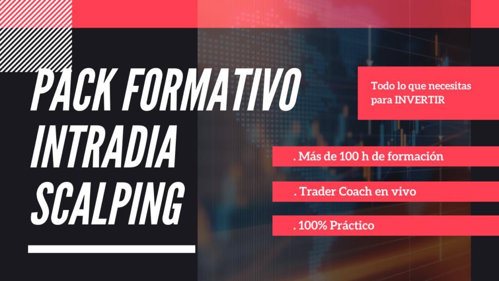 IMAGEN PUBLICITARIA DE FORMACION PARA INVERSORES INTRADIARIOS