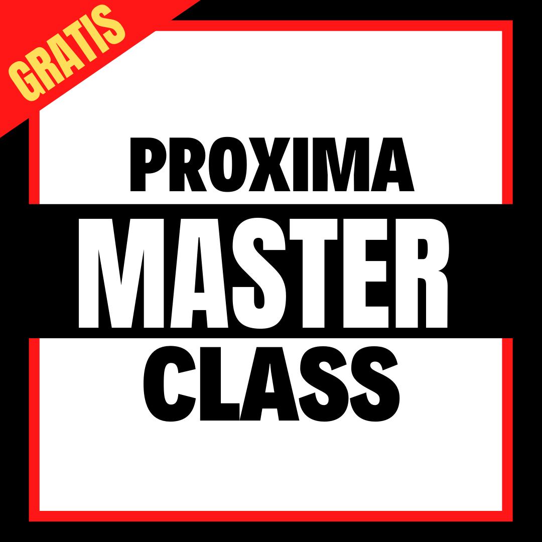 BANNER PROXIMA MASTER CLASS