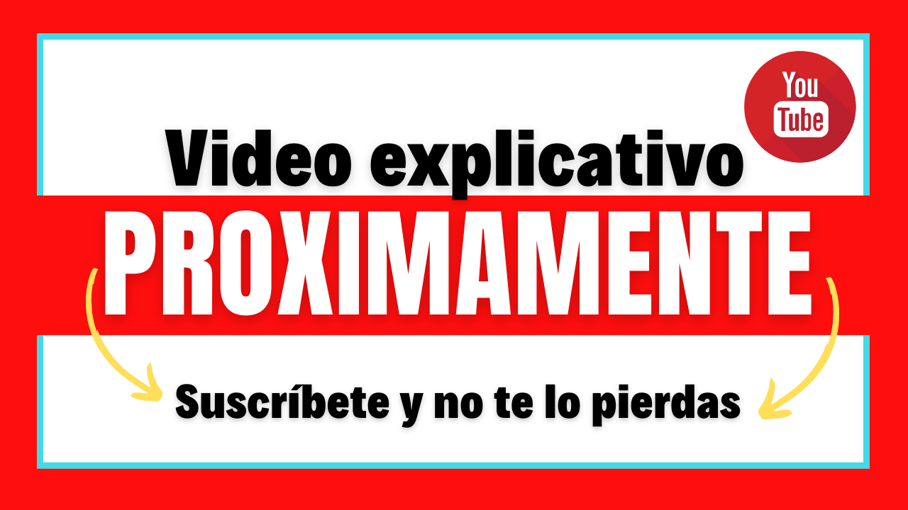 video explicatuvo suscribete ytb